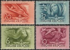 Hungary 1941 Planes/Glider/Pilot/Aviation/Transport/Horthy Fund 4v set (n45365)