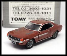 TOMICA LIMITED TL TOYOTA CELICA 1600GT 1/60 Diecast Car TOMY NEW Brown 26