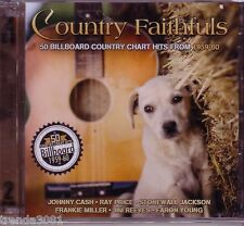 Country Faithfuls Billboard Country Chart 2CD Classic JIM REEVES DON GIBSON 50s