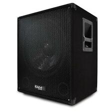 "15"" ACTIVE DJ PA DISCO SUBWOOFER BASS SPEAKER w. BI-AMP *FREE P&P SPECIAL OFFER"