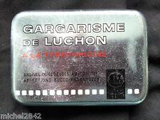 Boite en fer Gargarisme de Luchon Tin box