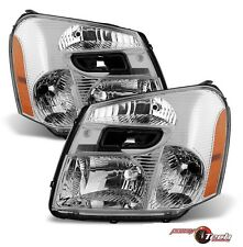 Headlights Headlamps Left & Right Pair Set NEW for 05-09 Chevy Equinox