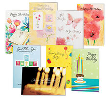 Birthday Cards Value Pack of 24