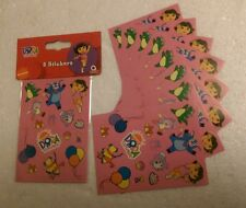 8 x Dora the Explorer Sticker Sheets - Party Bag Favours/Fillers - Postage offer