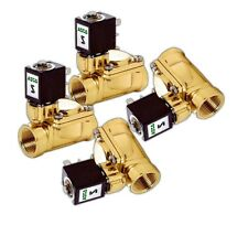 "4 3/8"" ASCO Fast Electric 300 Psi Brass Valves Air Bags"