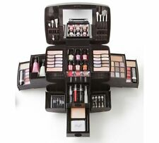 Deluxe Cosmetic Make-up Case Set Box Gift Home Accessories Professional NEW UK