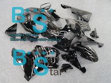 Flames White Fairing Bodywork Plastic Kit Honda CBR900RR CBR919RR 1998-1999 D7