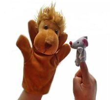 Kuhu Creations Lion & Mouse Famous Story Telling Hand Finger Puppets