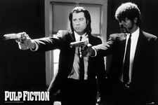 PULP FICTION (B&W GUNS)  GIANT WALL POSTER 140cm x 100cm