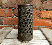 Vintage Round Acme Metal Cheese Vegetable Grater 1930s Kitchenalia Worn & Shabby