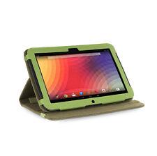 Google Nexus 10 Tablet Verde caqui versión Stand Natural cáñamo Funda
