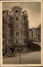 Innsbruck Österreich Tirol AK ~1920/30 Hölbling-Haus Helblinghaus Barock Kutsche
