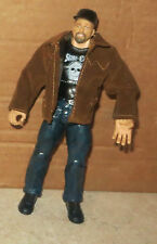 Stone Cold Steve Austin WWE Jakks Wrestling Figure + Removable Coat & Hat WWF RA