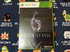 Resident Evil 6 BRAND NEW SEALED  (Xbox 360, 2012)