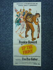 UP THE FRONT Carry On Original 1970s DB Movie Poster Zsa Zsa Gabor Frankie Howar