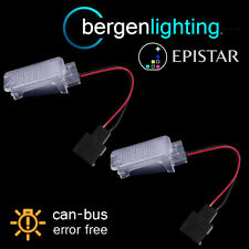 FOR VOLKSWAGEN TOUAREG JETTA 18 LED FOOTWELL UNDER DOOR COURTESY BOOT LAMP PAIR