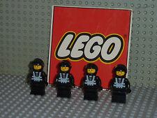 @Légo@ lot de 4 minifigurines espace à collectionné Set 6954/6703/6894/6955/6876