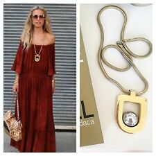 HOLY GRAIL *** RACHEL ZOE´s 1970s VINTAGE LANVIN PENDANT STATEMENT NECKLACE