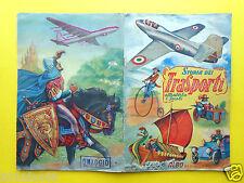 cards sticker album storia dei trasporti attraverso i secoli figurine lampo 1951
