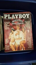 Playboy: Entertainment for Men 1980 Full Year of 12 Back issues