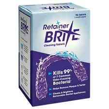NEW Retainer Brite Dental Cleaning Tablets - 96 Tablets 3 Month Cleaner Supply