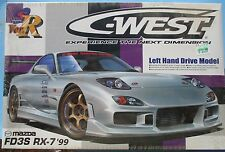 1999 MAZDA FD3S RX-7 C-WEST AOSHIMA 39199 WRAPPED 1:24 KIT VER. R
