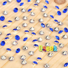 1000 Diamond Confetti Table Scatter Crystal Wedding Party Decor 4.5mm 1/3Carat