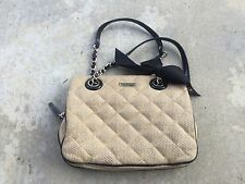 Authentic KATE SPADE Beige Quilted Leather Beige Gold Coast Maryanne Tote