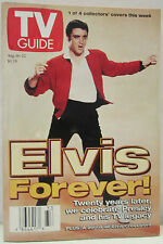 Vintage TV Guide August 16-22 1997 Elvis Presley Forever Collectible