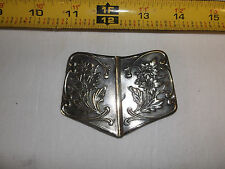Vintage Collectible Lady Belt Buckle Art Nouveau?