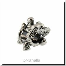 Authentic Trollbeads Sterling Silver 11511 Circus Elephant :1 RETIRED 27% OFF