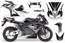 AMR Racing Graphic Kit Wrap Part Honda CBR1000 RR Street Bike 2006-2007 CRBNX K