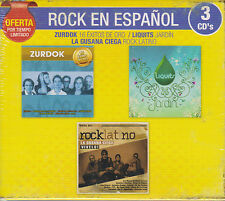 3 CD's Rock En Espanol CD NEW Zurdok Lquits La Gusana Ciega OFERTA BRAND NEW !