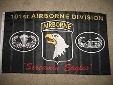 3x5 Black Army 101st Airborne Division Screamin Eagles Flag 3'x5' Licensed