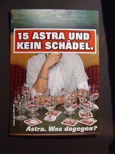 Edgar Karte Astra St Pauli, 15 Astra und kein Schädel