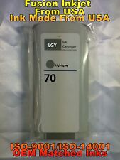 compatible INK Cartridge lgy light gray for HP 70 C9451A z3100 z3200 z5200 z2100