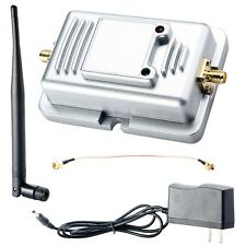NEW 2W 802.11bg WiFi Wireless LAN Broadband Router Signal Booster Amplifier