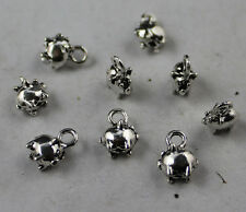 Free shipping 30pcs Retro style lovely pig alloy charms pendants 11x9mm