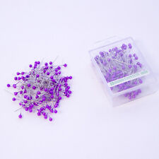 Pearl head pins Fuchsia Lavender florists corsage buttonhole 4cm Box of 144