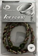 NEW PHITEN TORNADO NECKLACE 18 INCH Camouflage AND MAROON TITANIUM SPORTS