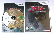 "NINTENDO WII SPIEL"" THE LEGEND OF ZELDA - TWILIGHT PRINCESS "" KOMPLETT / ERSTAUF"
