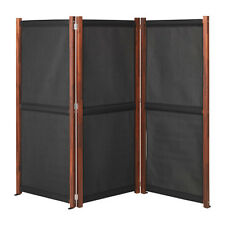 USEFUL IKEA SLÄTTÖ Privacy screen, outdoor, black, brown stained 211x170 cm