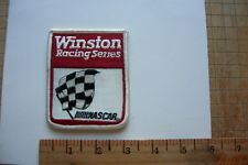 WINSTON RACING NASCAR STOCK CARS VINTAGE EMBROIDERED PATCH