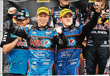 Winterbottom & Richards SIGNED 12x8 Bathurst 1000 Victory Podium Portrait 2013