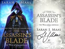 Sarah J Maas~SIGNED~Assassin's Blade~1st Ed HC~Throne of Glass Novellas+Photos!