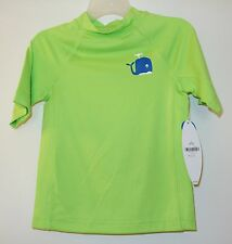 Brand New J.Khaki Green Whale Rash Guard ~ Boy's Sz 3T UPF 50+