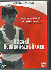 PEDRO ALMODOVAR - Bad Education - DVD Reg 2