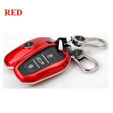 Car KEY COVER CASE Fit For Peugeot 308S 408 2008 3008 508 FOB Remote KEY