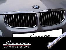 BMW Série 3 E90,E91 2005-2008, 3M garniture Chromée pour la Calandre, Rognons