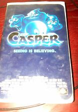 Casper VHS Movie Rated PG Comedy Ghost Halloween 1997 MCA Universal